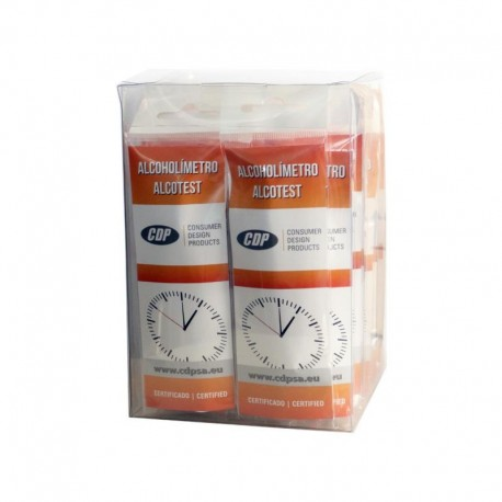 Alcoholímetro Desechable Test & Drive - Pack 10 Uds